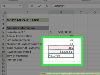 3 Ways to Create a Mortgage Calculator With Microsoft Excel
