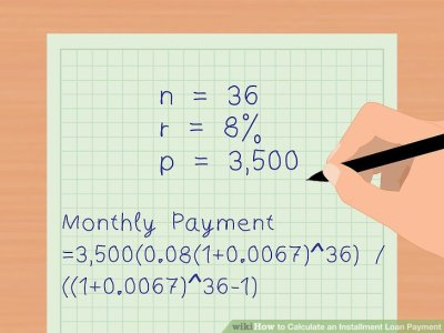 3 Ways to Calculate an Installment Loan Payment - wikiHow