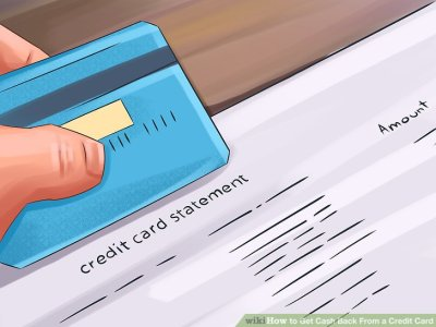 How to Get Cash Back From a Credit Card: 13 Steps (with Pictures)
