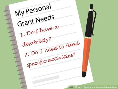 How to Apply for a Personal Need Grant (with Pictures) - wikiHow