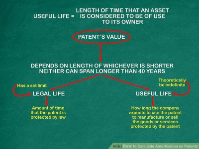 How to Calculate Amortization on Patents: 10 Steps (with Pictures)