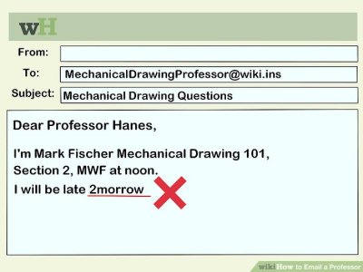 How to Email a Professor (with Sample Emails) - wikiHow