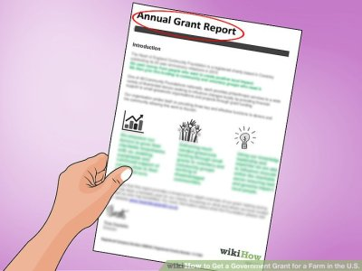 How to Get a Government Grant for a Farm in the U.S.: 14 Steps