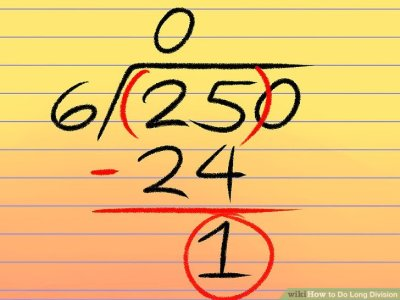 4 Easy Ways to Do Long Division (with Pictures) - wikiHow