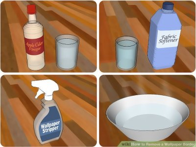 3 Ways to Remove a Wallpaper Border - wikiHow