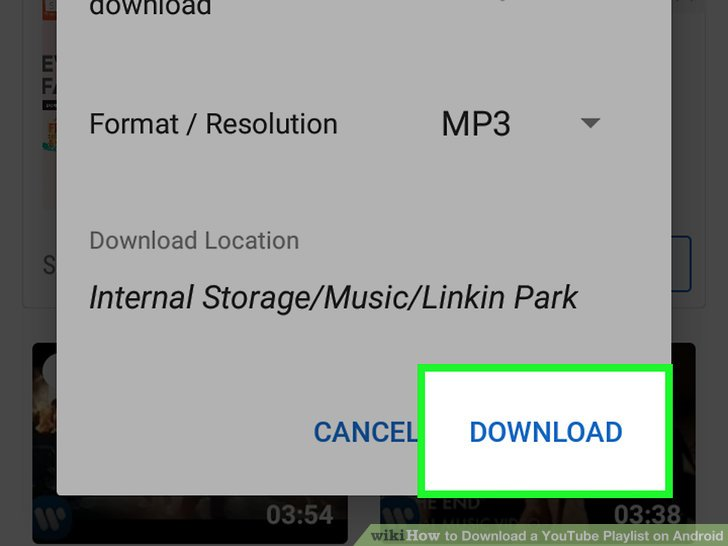 How to Download a YouTube Playlist on Android  with Pictures  Image titled Download a YouTube Playlist on Android Step 21