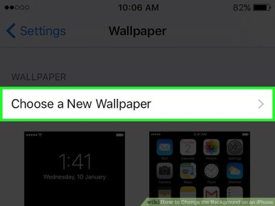 How to Change the Background on an iPhone: 9 Steps (with Pictures)
