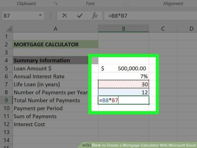 3 Ways to Create a Mortgage Calculator With Microsoft Excel