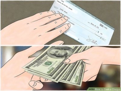 3 Ways to Cash a Cheque - wikiHow