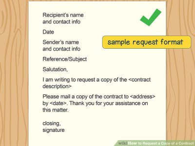 How to Request a Copy of a Contract (with Sample Letters)