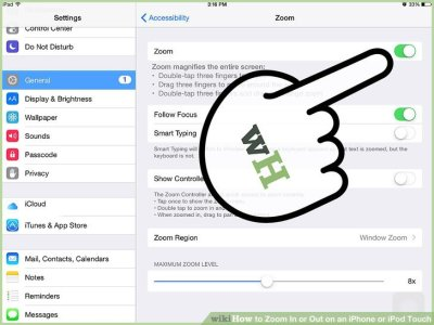 How to Zoom In or Out on an iPhone or iPod Touch: 10 Steps