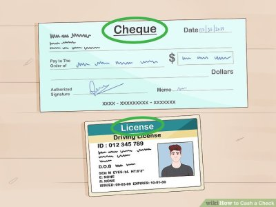 3 Ways to Cash a Check - wikiHow