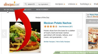 How to Submit a New Recipe to the Allrecipes Database: 14 Steps
