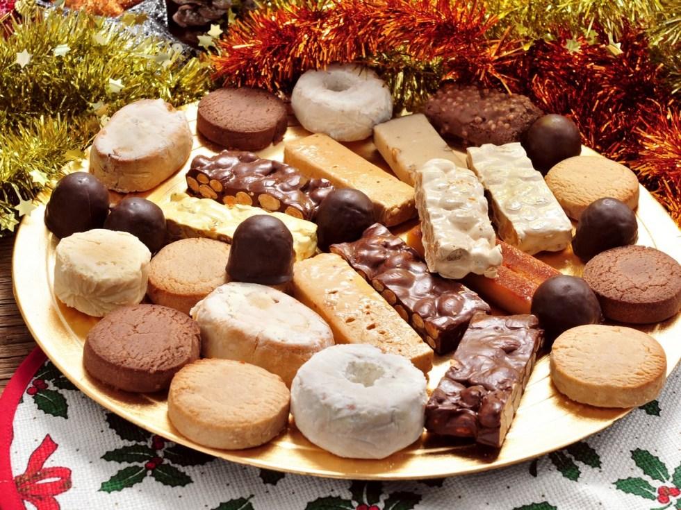 Turrón, De Spaanse Noga En Typische Spaanse Kerstlekkernij