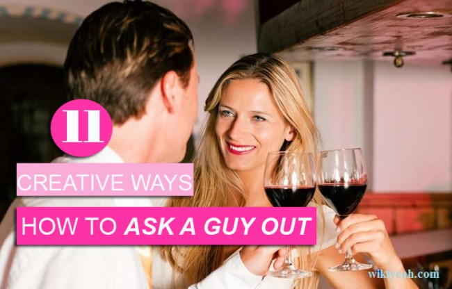 how to ask out a guy