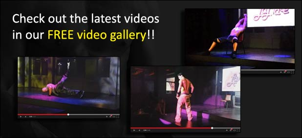 free video gallery of hot male dancers