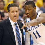 Calipari and Wall - AP Photo