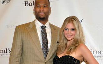 DeMarcus Cousins and Kate Upton