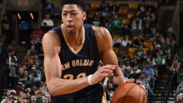Anthony Davis - photo by Brian Babineau/NBAE via Getty Images