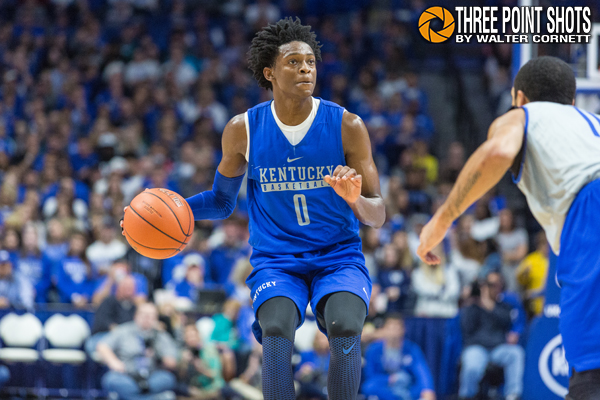 Why De'Aaron Fox-John Wall comparison matters