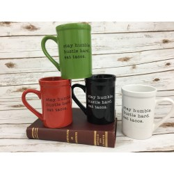 Astounding Coffee Cups Stay Humble Hustle Hard Eat Tacos Coffee Cup Coffee Cups Stay Humble Hustle Hard Eat Tacos Coffee Metal Coffee Mugs Online Metal Coffee Cups Decor