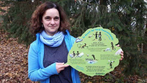 Infotafeln zur Umweltbildung an den Kalktuffquellen bei Frauendorf