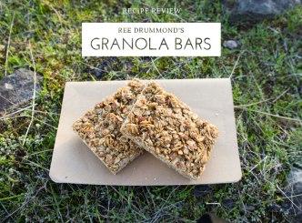 Ree Drummond's Granola Bars
