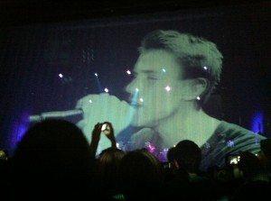 Clueso und Band live in der kassler Stadthalle am 24.10.2011
