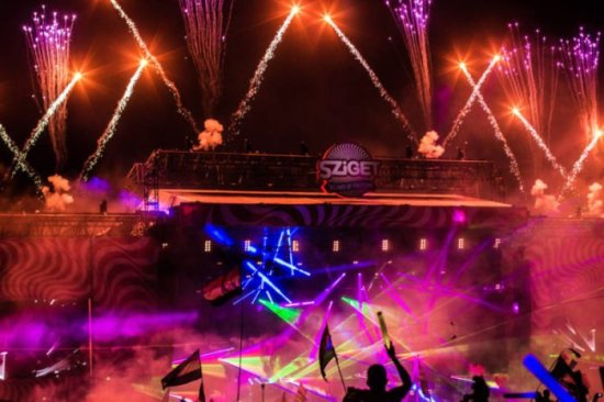 Sziget Festival 2015 in Budapest