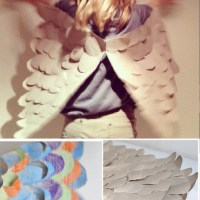 DIY PAPER: PAPER WINGS
