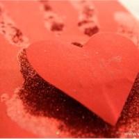 Valentine's Day Handprint Cards