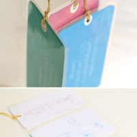 DIY: LUGGAGE TAGS