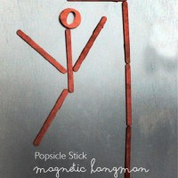 Popsicle Stick Magnetic Hangman