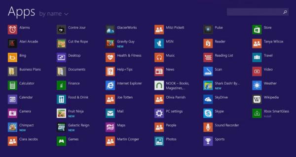 startscherm windows 8.1