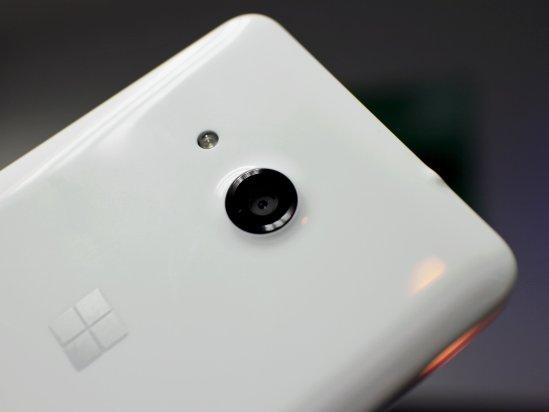 Microsoft Lumia 550 5MP camera