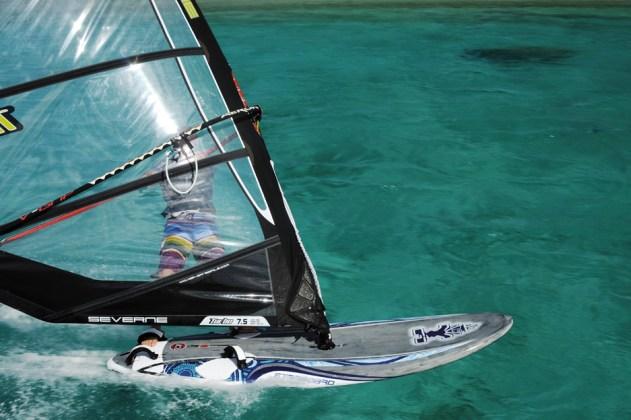 Starboard Futura 121 2012 action