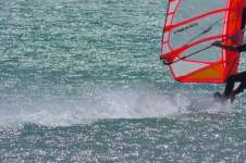 SOUTH OF FRANCE LE ROUET SPEED WINDSURFING