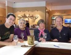 Vermeil wines tasting room