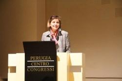 Chiara Lungarotti MTV President speaking at IWINETC 2012