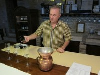 Wine Pleasures visits the Kabola winery, Istria, Croatia