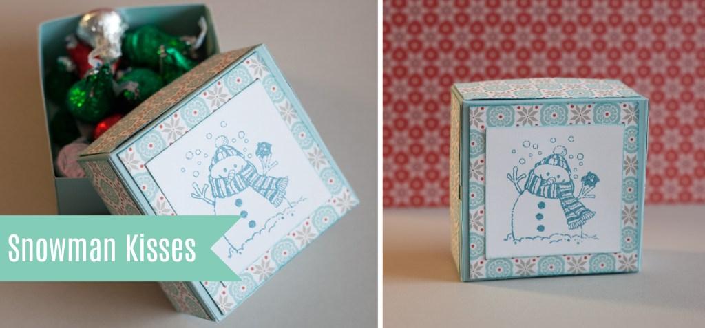 Snowman Kisses Gift Box
