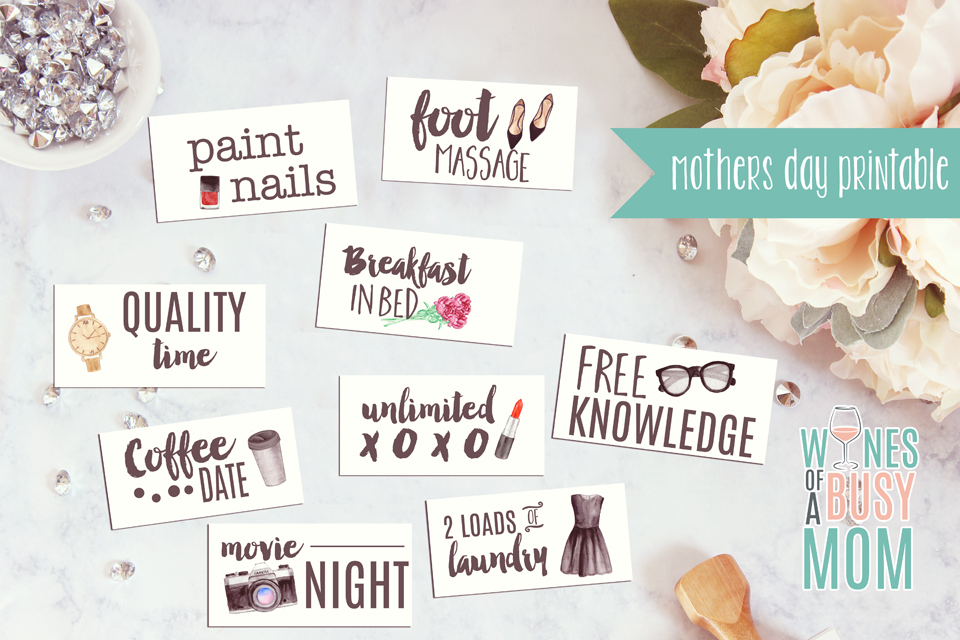 Free Mothers Day Printable