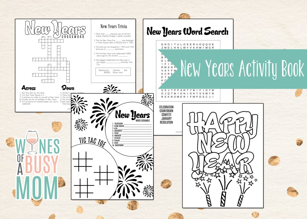 New Years Activity Book