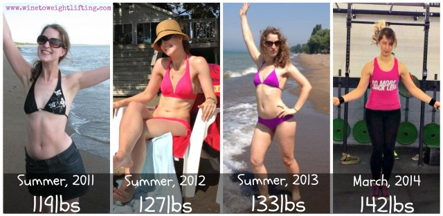 crossfit gaining weight progress pictures