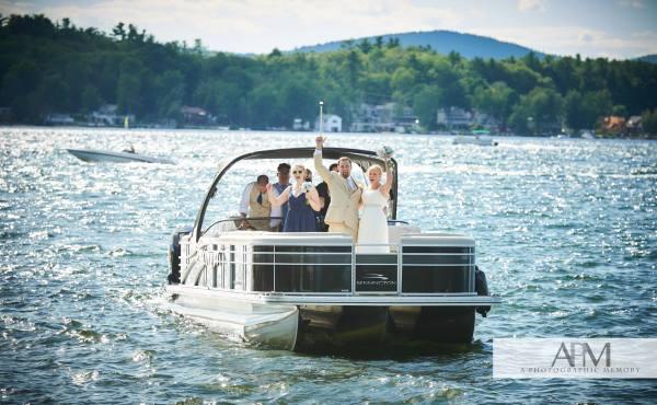 Julie boat wedding