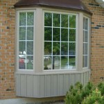 Sandlewood coloured Bay Windows