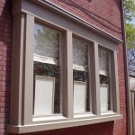 Casement Windows with aluminum capping