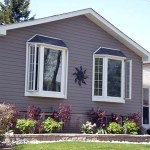eaves siding bow windows