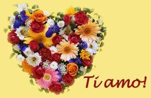 I love you in Italian e-card