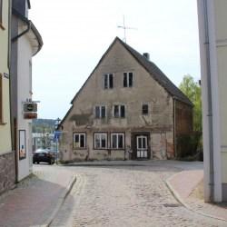 So sieht die Fischerstraße 14 heute vom Alten Markt aus gesehen aus.